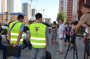 DSC 1469 300x199 Інспектування житлового будинку у київському масиві «Патріотика» Органом з інспектування «Центр пожежно технічного аудиту»  02 серпня 2017 року.